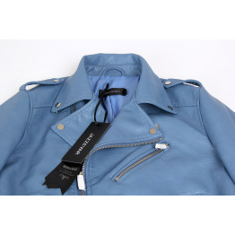 2016 New Autumn Fashion Street Women's Short Washed PU Leather Jacket Zipper Bright Colors New Ladies Basic Jackets Good Quality