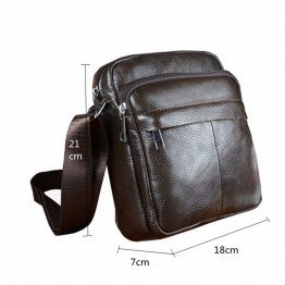 Angel Voices! Hot sale New fashion genuine leather men bags small shoulder bag men messenger bag crossbody leisure bag XP491