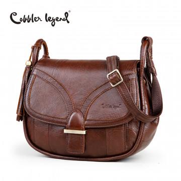 Cobbler Legend Brand Designer 2017 Women's Genuine Leather Vintage Single Shoulder Bag Women Crossbody Bags Handbags For Ladies32453722548