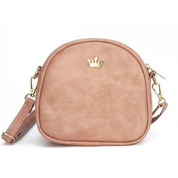 Fashion women messenger bags crown rivet female crossbody bag PU leather shoulder bag ladies mini pack bolso sac 2017 new design32761946748
